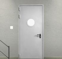 Двери с круглым стеклом