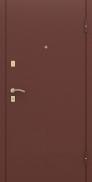 Входная металлическая дверь РуссоНова Классик (антик медь+милан орех)