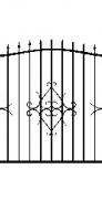 Забор кованный №1