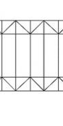 Забор сварной №3